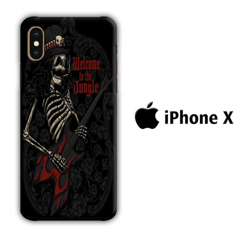 GNR Slash coque 3D iphone X