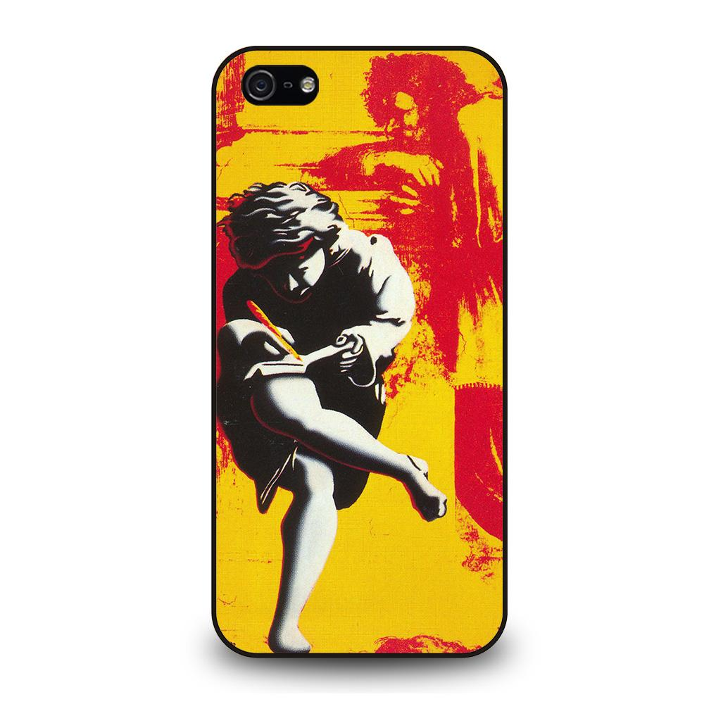 GUNS N ROSES COVER ALBUM iPhone 5 / 5S / SE coque Cover