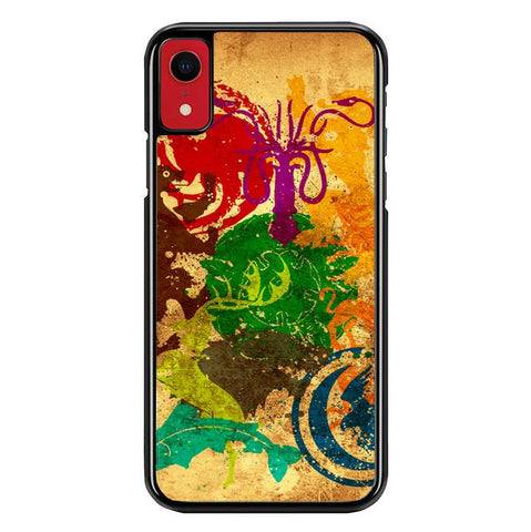 Game Of Thrones Emblems Z0184 iPhone XR coque