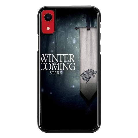 Game Of Thrones Winter Is Coming Z4363 iPhone XR coque