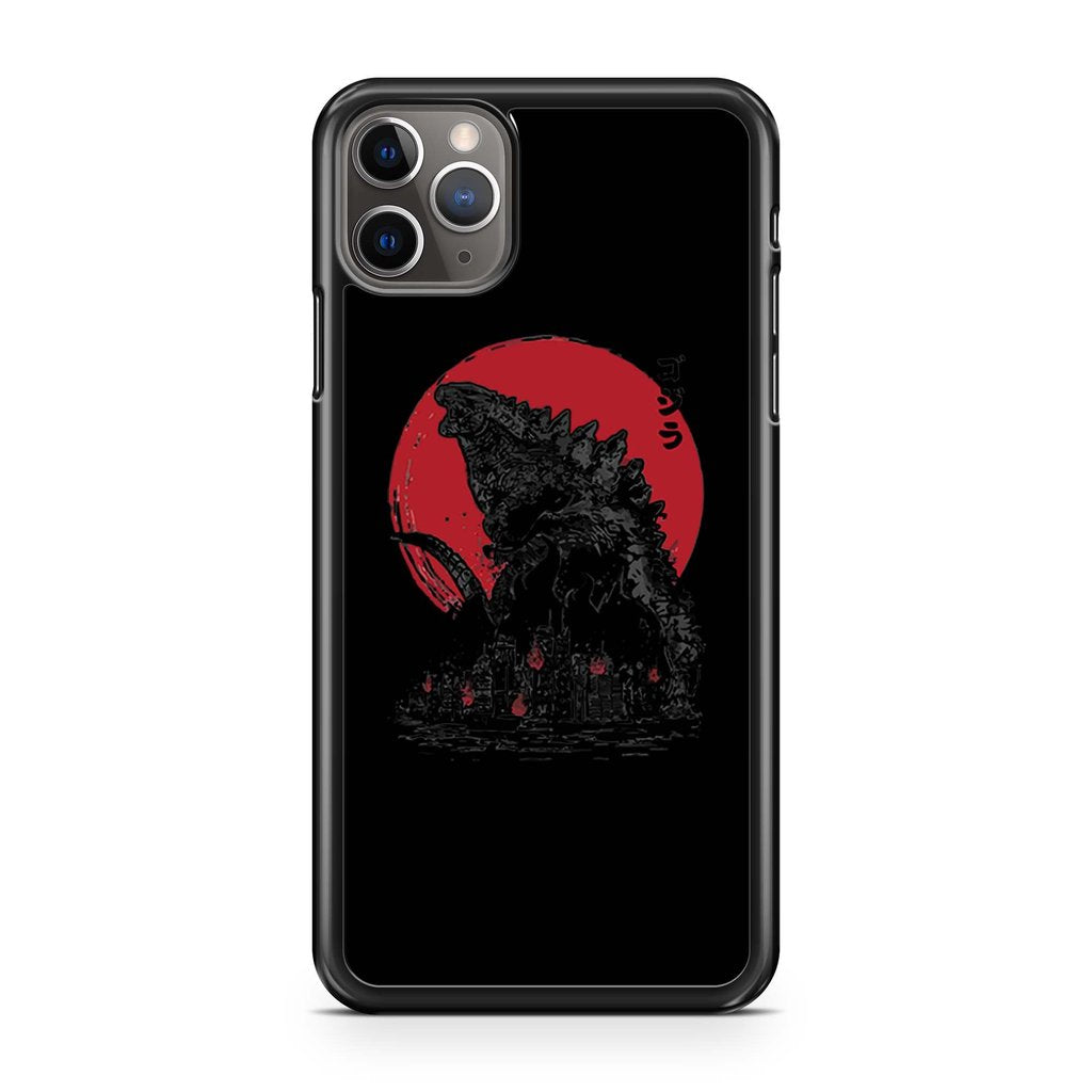 coque custodia cover case fundas hoesjes iphone 11 pro max 5 6 6s 7 8 plus x xs xr se2020 pas cher p9349 Godzilla King Of The Monster Iphone 11 Pro Max Case