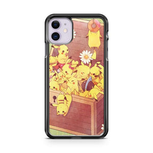 Pikachu Tail iphone 5/6/7/8/X/XS/XR/11 pro case cover