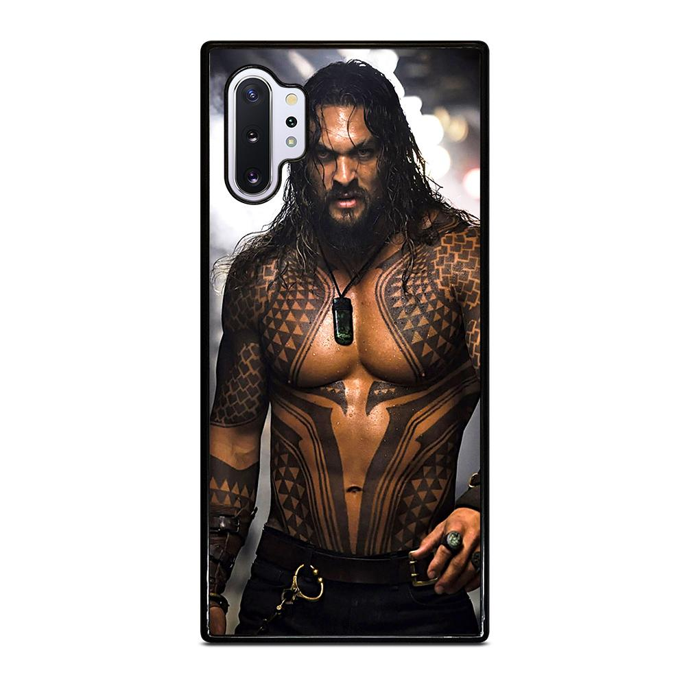 coque custodia cover fundas hoesjes j3 J5 J6 s20 s10 s9 s8 s7 s6 s5 plus edge D28401 JASON MOMOA AQUAMAN Samsung Galaxy Note 10 Plus Case