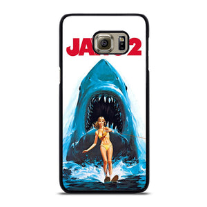 coque custodia cover fundas hoesjes j3 J5 J6 s20 s10 s9 s8 s7 s6 s5 plus edge D28432 JAWS 2 SHARK Samsung Galaxy S6 Edge Plus Case