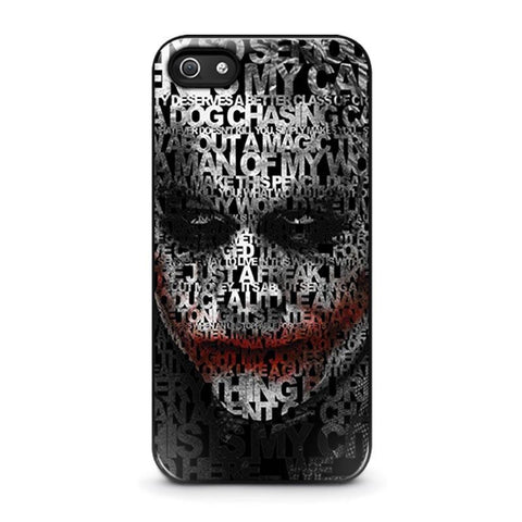 JOKER 1 iPhone 5 / 5S / SE coque Cover