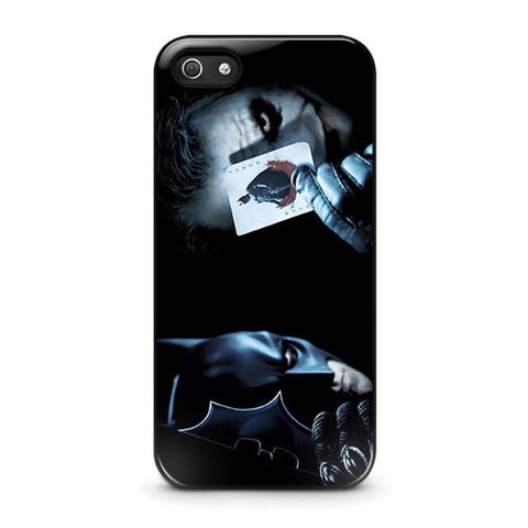 JOKER VS BATMAN iPhone 5 / 5S / SE coque Cover