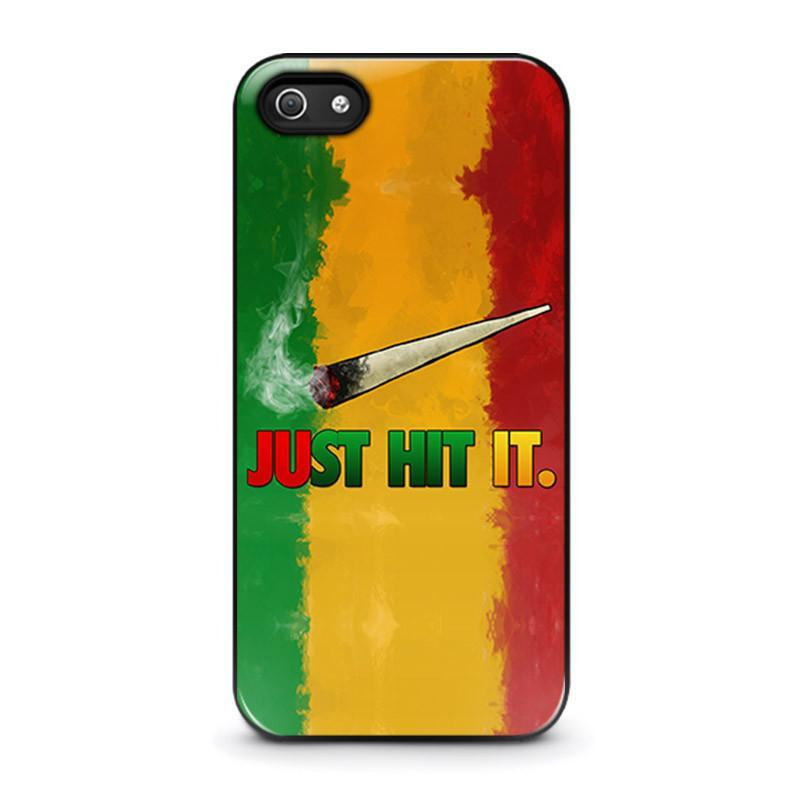 JUST HIT IT iPhone 5 / 5S / SE coque Cover