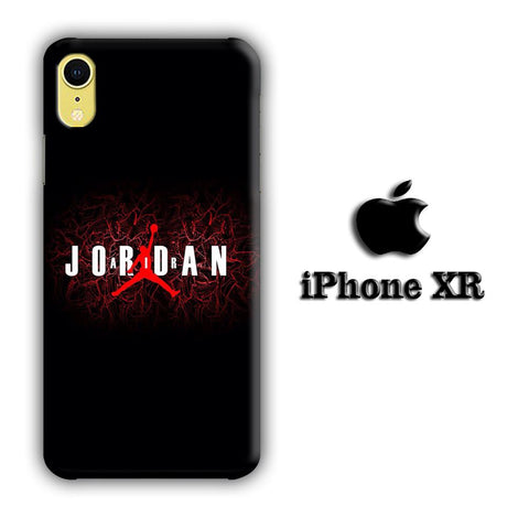 Jordan Air Black coque 3D iPhone XR