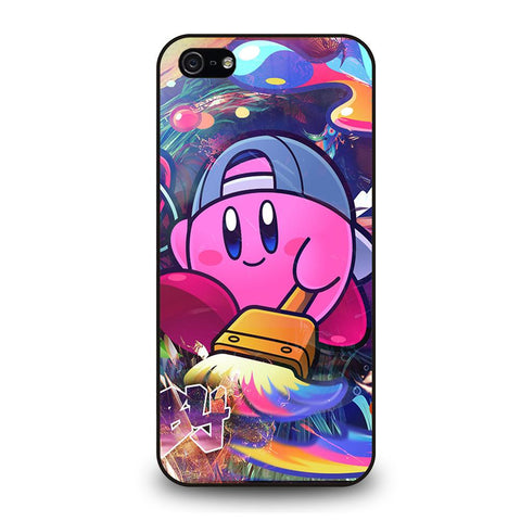 KIRBY CUTE CARTOON iPhone 5 / 5S / SE coque Cover