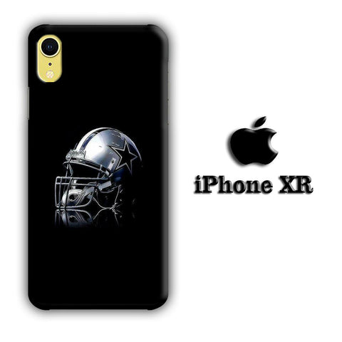 NFL Dallas Cowboys Helmet coque 3D iPhone XR