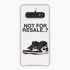 Coque Samsung galaxy S5 S6 S7 S8 S9 S10 S10E Edge Plus Nike Air Jordan Not For Resale