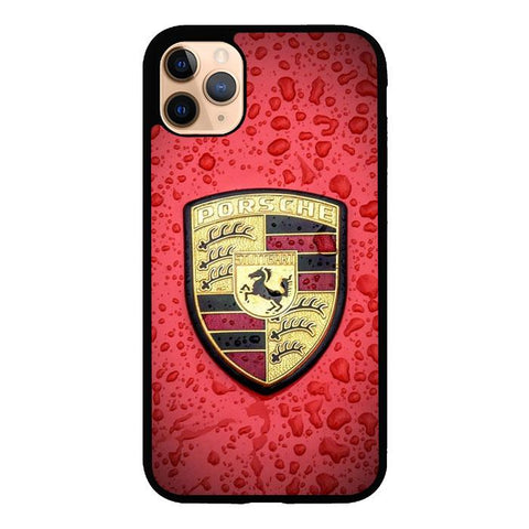 Porsche Car Logo Z4907 iPhone 11 Pro Max coque