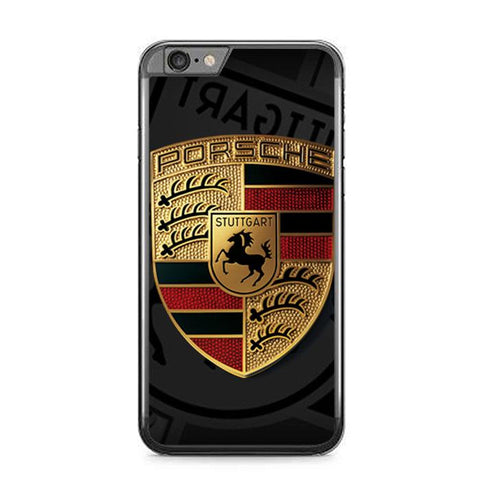 Porsche Logo Z5057 iPhone 6 Plus, 6S Plus coque