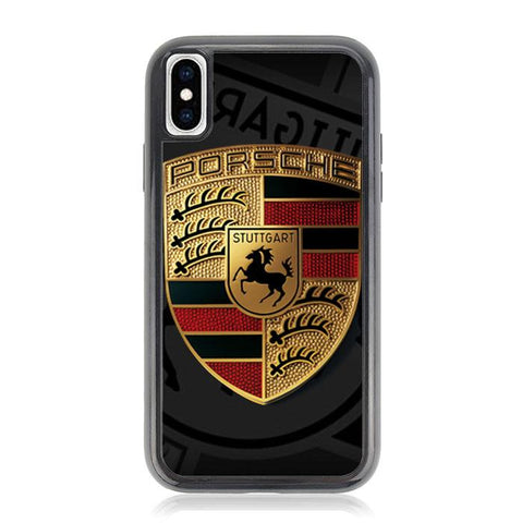 Porsche Logo Z5057 iPhone X, XS coque