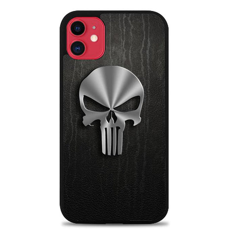Punisher Logo 3D Z4084 iPhone 11 coque