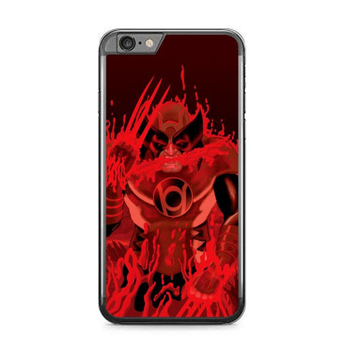 Red Lantern Wolverine Z1306 iPhone 6 Plus, 6S Plus coque