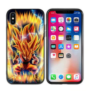SSJ3 Son Goku Power Level Up iPhone 11 (Pro & Pro Max) coque