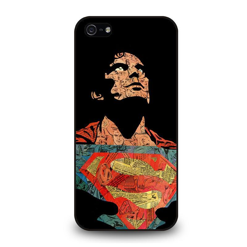 SUPERMAN ART iPhone 5 / 5S / SE coque Cover,coque iphone 5 dragon ball z coque iphone 5 keep calm and be a princess,SUPERMAN ART iPhone 5 / 5S / SE coque Cover