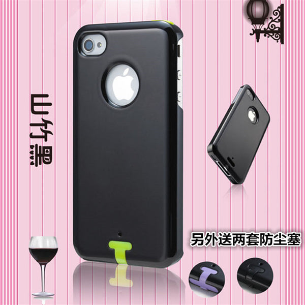 Iphone4s Hand Case Apple 4s Hand Case Metal Iphone4 Protect Sheath Men And Women Ip4