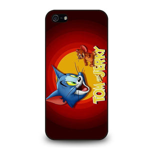 TOM AND JERRY Logo iPhone 5 / 5S / SE coque Cover,coque iphone 5 eminem coque iphone 5 kawaii,TOM AND JERRY Logo iPhone 5 / 5S / SE coque Cover