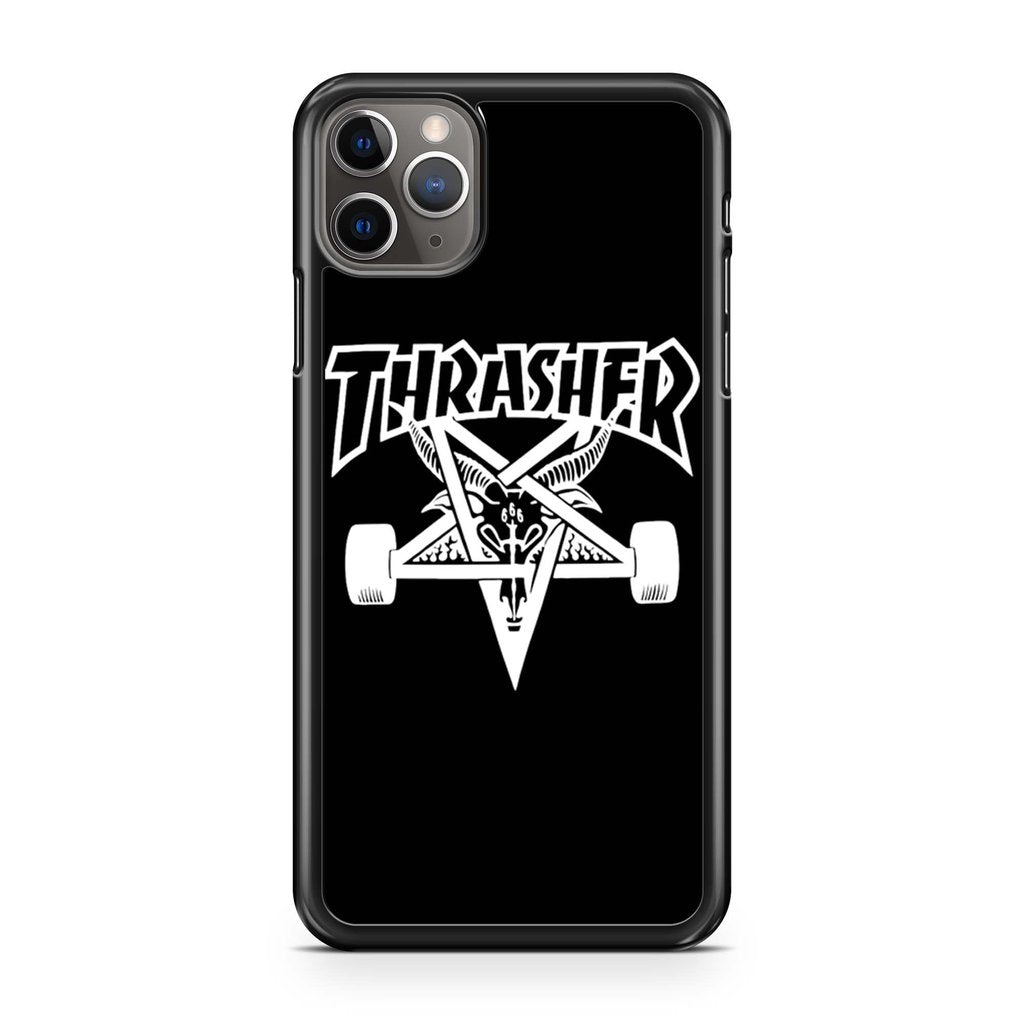 coque custodia cover case fundas hoesjes iphone 11 pro max 5 6 6s 7 8 plus x xs xr se2020 pas cher p10035 Thrasher Inspired Skategoat Iphone 11 Pro Max Case