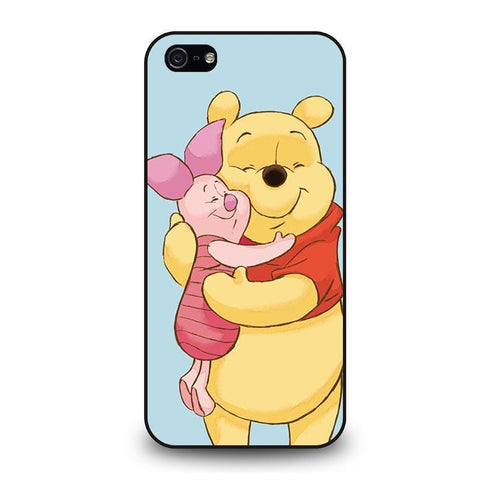 WINNIE THE POOH AND PIGLET iPhone 5 / 5S / SE coque Cover,coque iphone 5 ol coque iphone 5 silicone lapin,WINNIE THE POOH AND PIGLET iPhone 5 / 5S / SE coque Cover