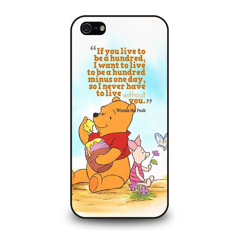 WINNIE THE POOH QUOTE Disney iPhone 5 / 5S / SE coque Cover,coque iphone 5 lol coque iphone 5 tigrou,WINNIE THE POOH QUOTE Disney iPhone 5 / 5S / SE coque Cover
