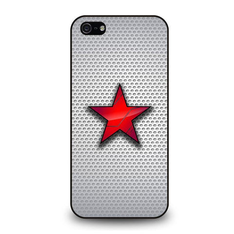 WINTER SOLDIER LOGO AVENGERS 2 iPhone 5 / 5S / SE coque Cover,coque iphone 5 charo coque iphone 5 motif chat,WINTER SOLDIER LOGO AVENGERS 2 iPhone 5 / 5S / SE coque Cover