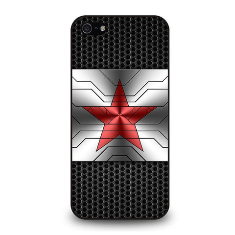 WINTER SOLDIER LOGO AVENGERS iPhone 5 / 5S / SE coque Cover,superbe coque iphone 5 coque iphone 5 usa,WINTER SOLDIER LOGO AVENGERS iPhone 5 / 5S / SE coque Cover