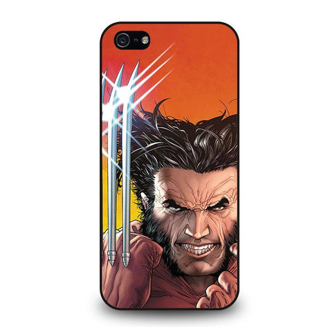 WOLVERINE LOGAN iPhone 5 / 5S / SE coque Cover,coque iphone 5 clapet personnalisable différence coque iphone 5 et 5c,WOLVERINE LOGAN iPhone 5 / 5S / SE coque Cover