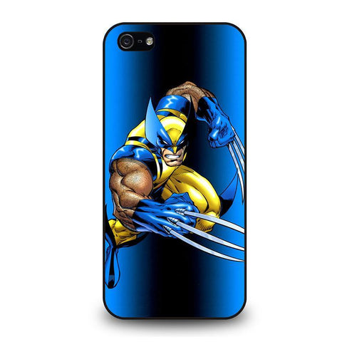 WOLVERINE X-MEN iPhone 5 / 5S / SE coque Cover,coque iphone 5 violet différence coque iphone 5 et 5c,WOLVERINE X-MEN iPhone 5 / 5S / SE coque Cover