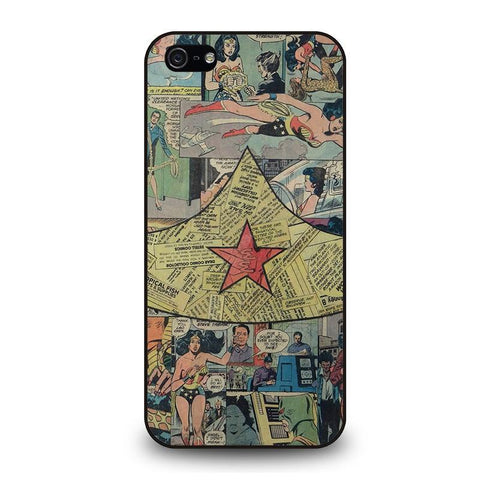 WONDER WOMAN COLLAGE iPhone 5 / 5S / SE coque Cover,coque iphone 5 motif chat coque iphone 5 personalisé,WONDER WOMAN COLLAGE iPhone 5 / 5S / SE coque Cover