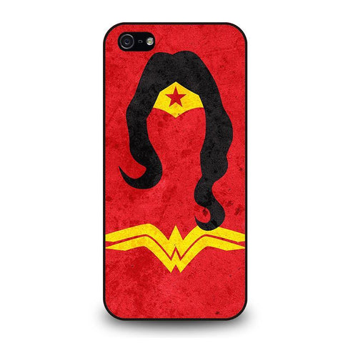 WONDER WOMAN ICON iPhone 5 / 5S / SE coque Cover,coque iphone 5 silicone lapin coque iphone 5 charo,WONDER WOMAN ICON iPhone 5 / 5S / SE coque Cover