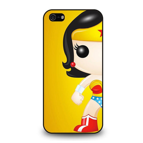 WONDER WOMAN KAWAII iPhone 5 / 5S / SE coque Cover,coque iphone 5 s rose coque iphone 5 unicorn,WONDER WOMAN KAWAII iPhone 5 / 5S / SE coque Cover