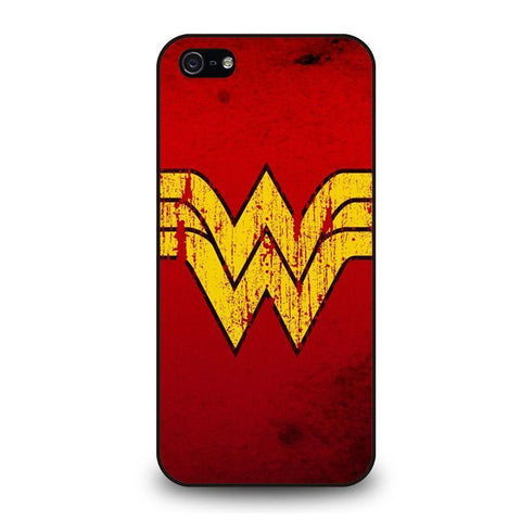 WONDER WOMAN LOGO ART iPhone 5 / 5S / SE coque Cover,coque iphone 5 stormtrooper zalando coque iphone 5,WONDER WOMAN LOGO ART iPhone 5 / 5S / SE coque Cover