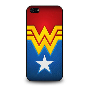 WONDER WOMAN LOGO iPhone 5 / 5S / SE coque Cover,coque iphone 5 levis volcom coque iphone 5,WONDER WOMAN LOGO iPhone 5 / 5S / SE coque Cover