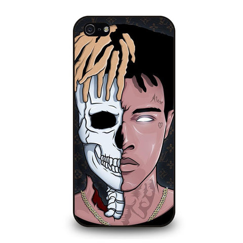 XXXTENTACION SKUL FACE iPhone 5 / 5S / SE coque Cover,coque iphone 5 poussin coque iphone 5 maryline monroe,XXXTENTACION SKUL FACE iPhone 5 / 5S / SE coque Cover