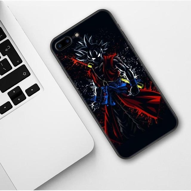 Xeno Goku Black Silhouette iPhone 11 (Pro & Pro Max) coque