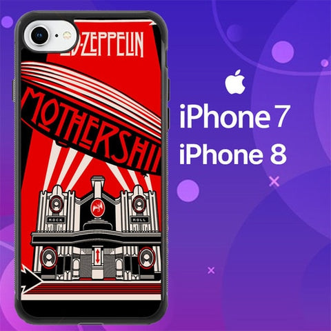 Led Zeppelin Mothership Z1318 coque iPhone 7 , iPhone 8