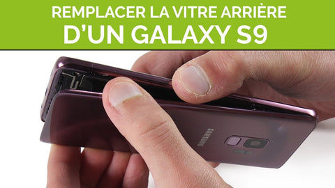 comment enlever coque samsung s9