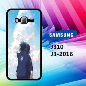coque samsung J3 2016 J310 itachi wallpaper
