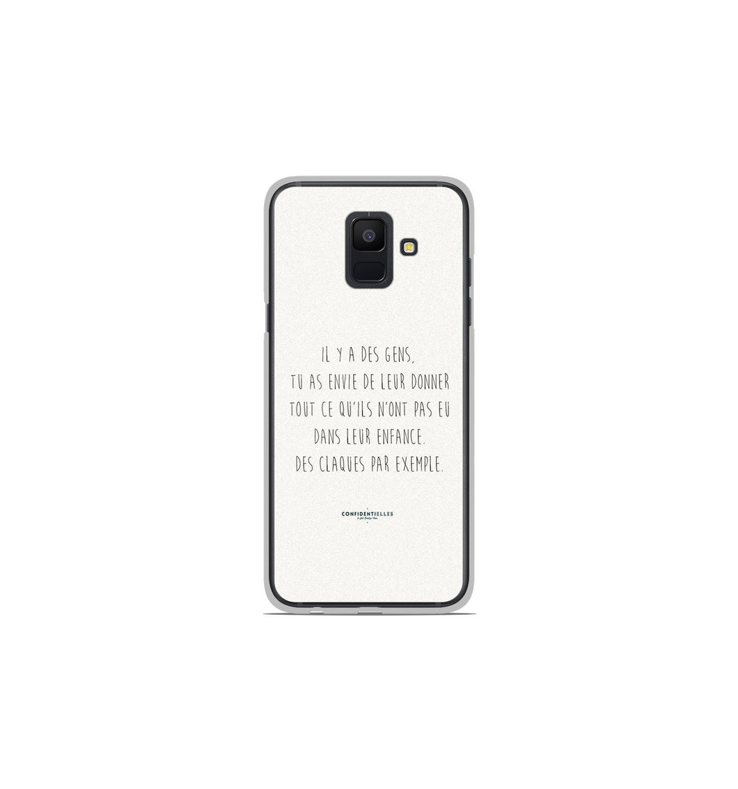 coque a6 2018 samsung citation