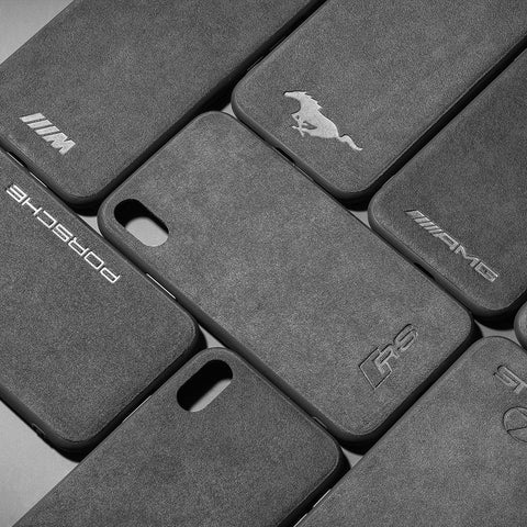coque alcantara iphone 8 audi