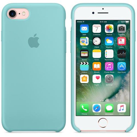 coque apple iphone 7 bleu clair