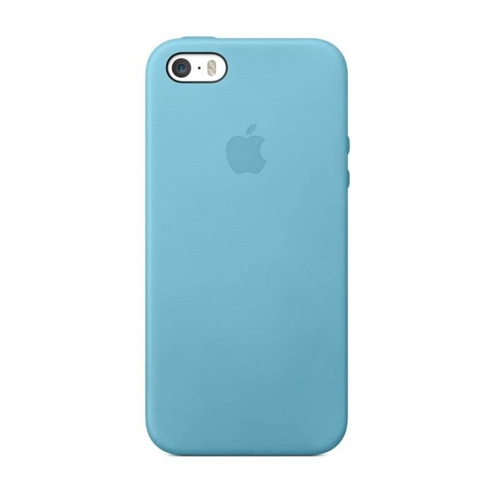 coque bleu iphone 5