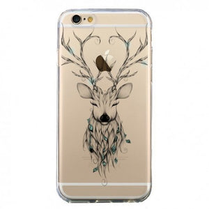 coque cerf iphone 6