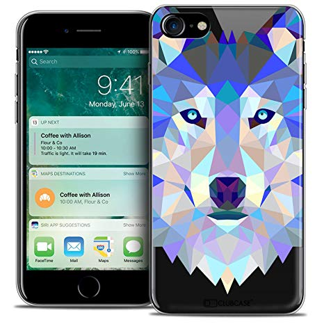 coque crystal loup iphone 7