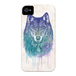 coque de iphone 4 loup