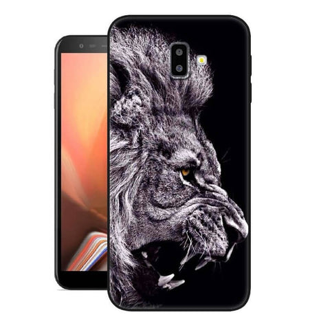 coque de samsung j6 plus lion