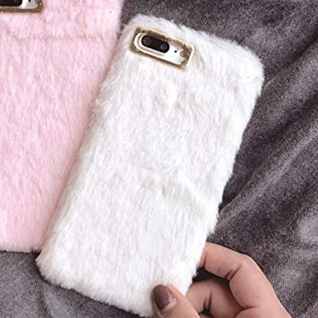 coque fourrure iphone 8